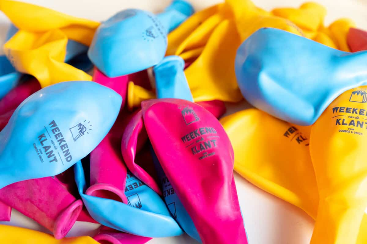 ballonnen Weekend van de Klant